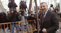 José Blanco cuando fue a declarar al Supremo | EFE