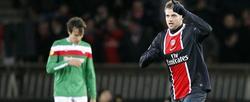 Bodmer celebra el segundo gol del PSG. | EFE