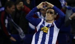 Callejón celebra un gol con el Espanyol. | Cordon Press