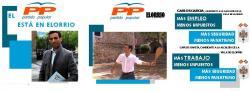 Carteles electorales de Carlos García para el PP en Elorrio | PP
