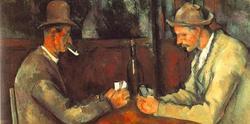 'Los jugadores de cartas', de Cezanne.