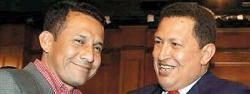 Chávez y Humala, en un encuentro en 2006. | Archivo