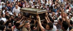 Uno de los cristianos muertos en El Cairo | EFE