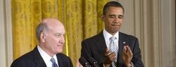 Daley con Obama en el día de su nombramiento. | Archivo