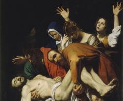 'El Descendimiento' de Caravaggio.