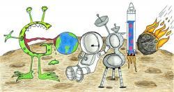 El 'doodle' ganador. | Google
