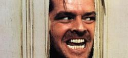Jack Nicholson protagonizó la adaptación al cine en 1980