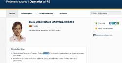 El currículum en la red de Elena Valenciano