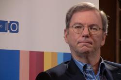 Eric Schmidt, presidente de Google. | Jolie O\'Dell / CC-by 2.0