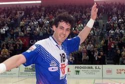 Errekondo, en su etapa como jugador de balonmano. | Archivo
