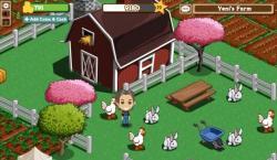 Pantalla del juego Farmville, de Zynga. | LD