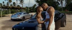 Elsa Pataky y Vin Diesel en Fast & Furious 5, ya en cines