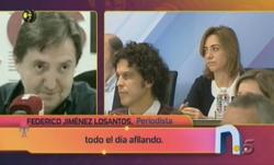 Críticas a Losantos en La Noria de Telecinco  | Foto: TV