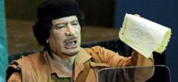 Muamar Gadafi. | Archivo