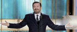 Gervais, en la última gala de los Globos de Oro | Archivo