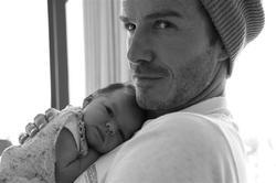 La foto de los Beckham.