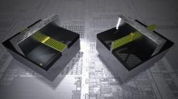 Diferencia entre los transistores tradicionales (izquierda) y los nuevos Trigate con orientación vertical (derecha). | Intel