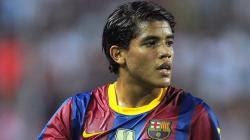 El jugador mexicano del Barcelona, Jonathan Dos Santos. | Archivo.