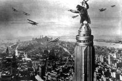 King Kong, uno de los más famosos monstruos del cine