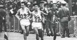El atleta japonés, en plena carrera | Archivo