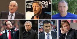 Los posibles entrenadores del Atlético de Madrid.   LD