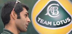 El piloto probador de Lotus, Chandokh