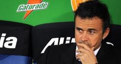 Luis Enrique, serio ante la Juventus. | EFE