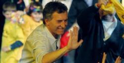 Macri celebra su clara victoria.   EFE