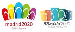 Los dos logos, a la izquierda el definitivo y a la derecha el original