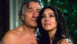 Robert De Niro y Monica Bellucci, en Manuale d'amore 3