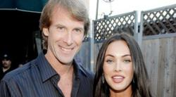 Bay junto a Megan Fox