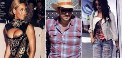 Beyoncé, Pilar Rubio, Cayetano, David de Gea y Borja Thyssen.