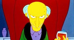 El Sr. Burns