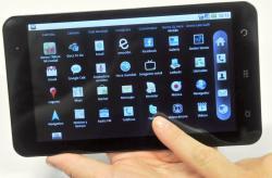 La tableta de bajo coste ZTE Light Pro. | Movistar