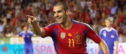 Negredo celebra el primer gol. | EFE
