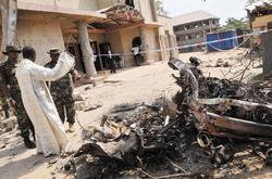 Una de las iglesias tras el atentado | EFE