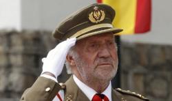 El Rey en un acto militar celebrado en mayo. | Cordon Press