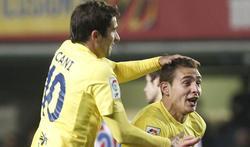 Marco Ruben celebra su tanto ante el Sporting. | EFE