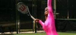 Serena Williams, con su particular atuendo. | Twitter