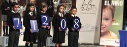 Número agraciado con el primer premio del Niño | EFE