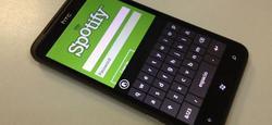 Spotify en Windows Phone.   EP/Carlos Hergueta