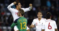 Thiago celebra con David de Gea la victoria en el Europeo sub´21. | Efe
