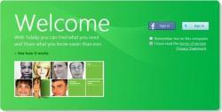 Página de inicio de la red social de Microsoft, Tulalip