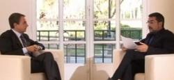 Zapatero en una entrevista del pasado con Buenafuente