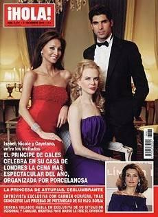 Isabel Preysler Nicole Kidman Cayetano Rivera Y El Photoshop En
