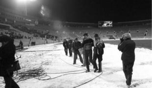Imagen del estadio, aquella fatídica noche