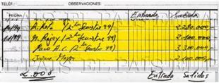 Los supuestos apuntes de Bárcenas publicados en 'El País'