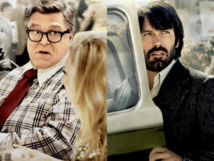 Ben Affleck y John Goodman, en 'Argo'