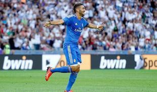 Karim Benzema celebra su gol al PSG. | Foto: realmadrid.com