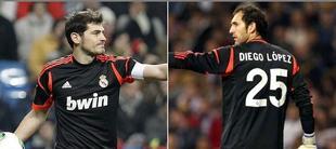 Casillas y Diego López pelean por la portería del Real Madrid. | Archivo